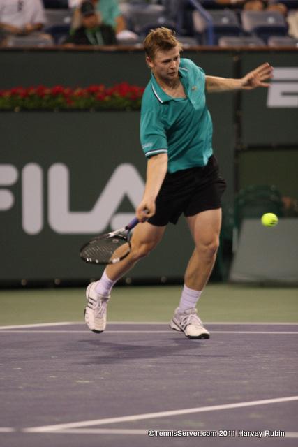 Andrey Golubev 2011 BNP Paribas Open Tennis