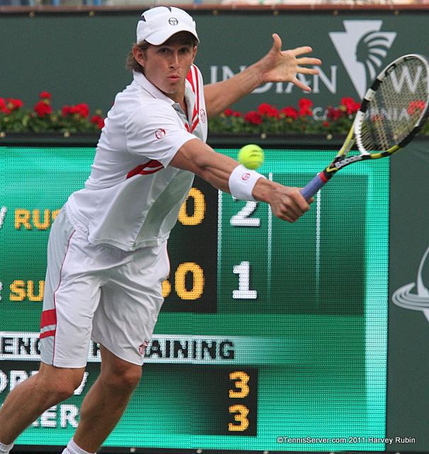 Igor Andreev 2011 BNP Paribas Open Tennis