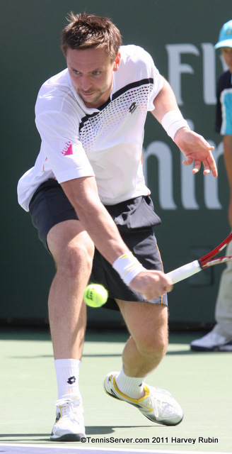 Robin Soderling 2011 BNP Paribas Open Tennis