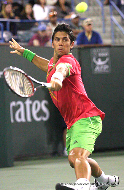 Fernando Verdasco 2011 BNP Paribas Open Tennis