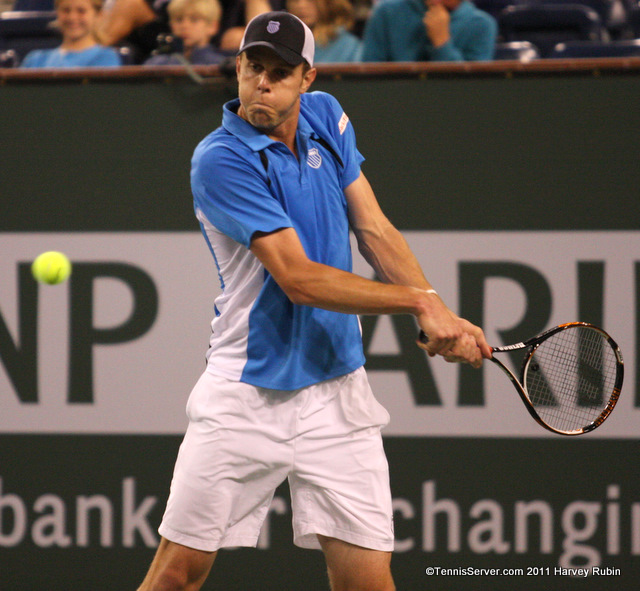 Sam Querrey 2011 BNP Paribas Open Tennis