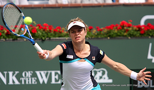 Kim Clijsters 2011 BNP Paribas Open Tennis