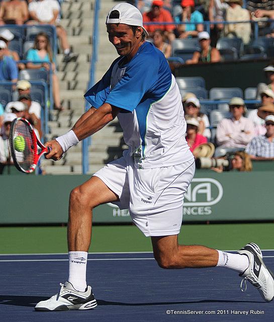 Juan Ignacio Chela 2011 BNP Paribas Open Tennis