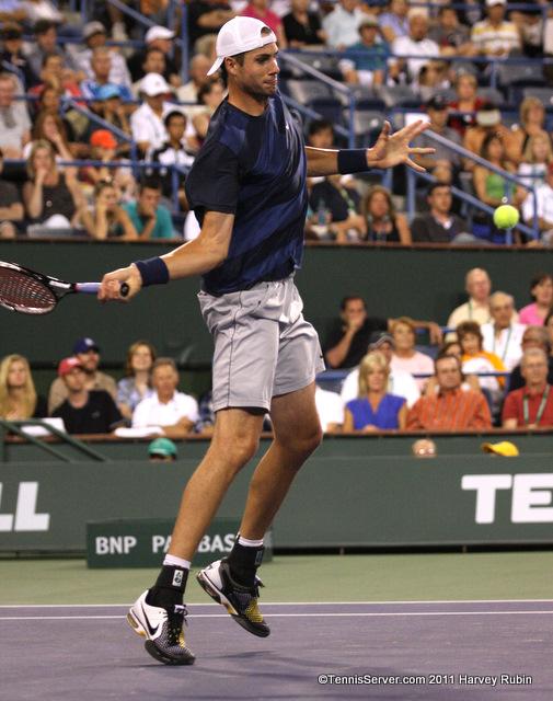 John Isner 2011 BNP Paribas Open Tennis