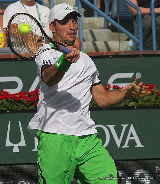 Viktor Troicki 2011 BNP Paribas Open Tennis