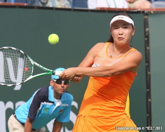 Shuai Peng 2011 BNP Paribas Open Tennis