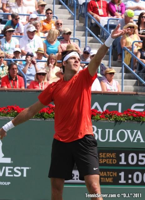 Juan Martin del Potro 2011 BNP Paribas Open Tennis