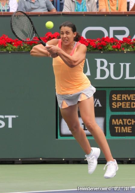 Marion Bartoli 2011 BNP Paribas Open Tennis