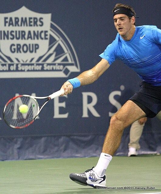 Juan Martin del Potro 2011 Farmers Classic Los Angeles Tennis