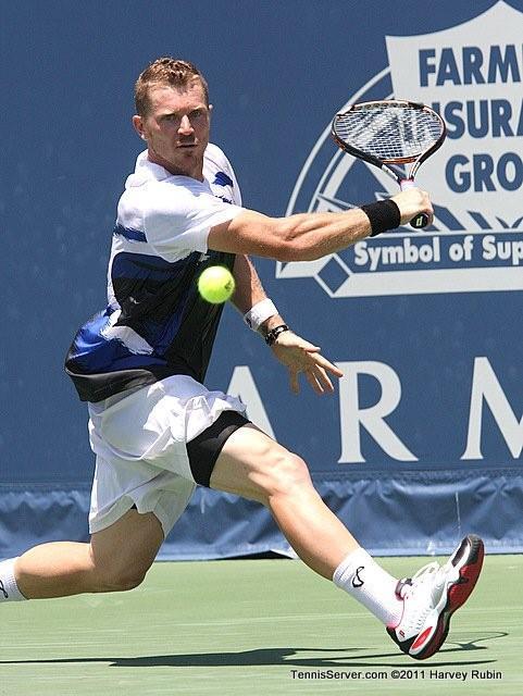 Alex Bogomolov Jr 2011 Farmers Classic Los Angeles Tennis