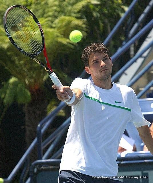 Grigor Dimitrov 2011 Farmers Classic Los Angeles Tennis
