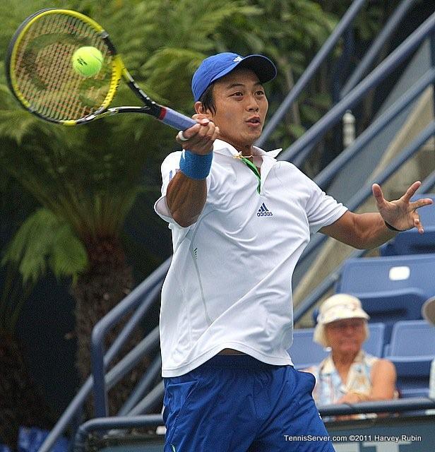 Yen-Hsun Lu 2011 Farmers Classic Los Angeles Tennis