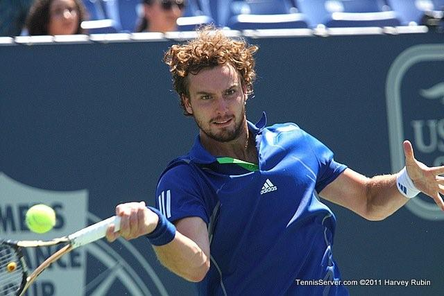 Ernests Gulbis 2011 Farmers Classic Los Angeles Tennis