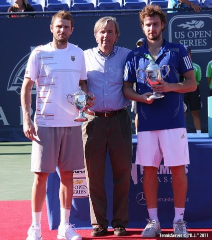 Ernests Gulbis Mardy Fish Trophy 2011 Farmers Classic Los Angeles Tennis