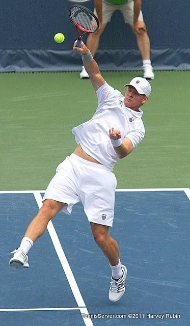 Mark Knowles 2011 Farmers Classic Los Angeles Tennis
