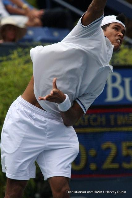 Somdev Devvarman 2011 Farmers Classic Los Angeles Tennis