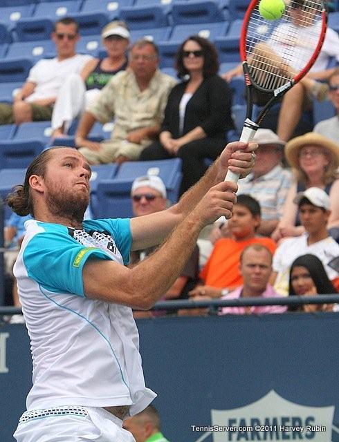 Xavier Malisse 2011 Farmers Classic Los Angeles Tennis