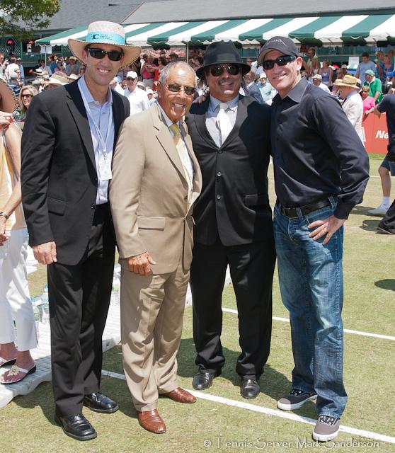 Nick Bollettieri, Brad Gilbert Tennis Hall of Fame Induction