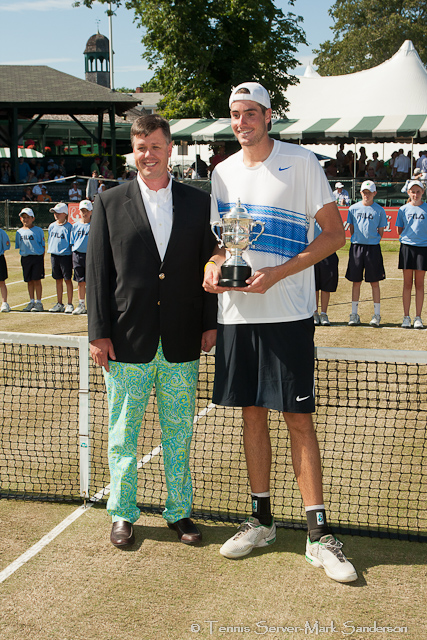 John Isner Campbell's Hall of Fame Tennis Championships