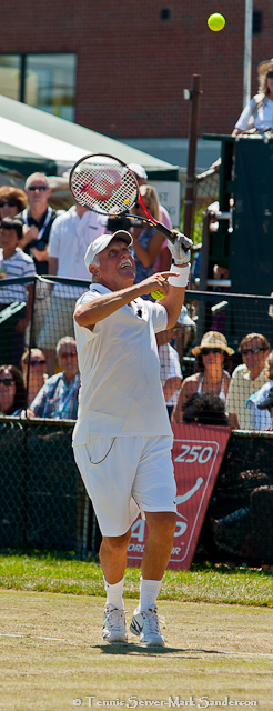 Owen Davidson Tennis Hall of Fame Exhibition Match