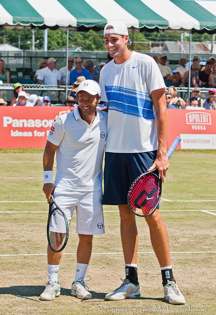 Olivier Rochus John Isner Campbell's Hall of Fame Tennis Championships