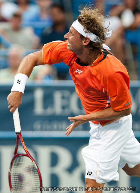 David Nalbandian 2011 Legg Mason Tennis Classic Washington DC
