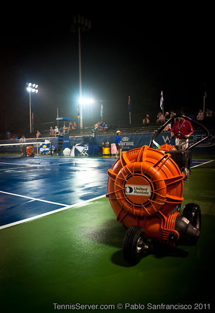 Rain Delay 2011 Legg Mason Tennis Classic Washington DC