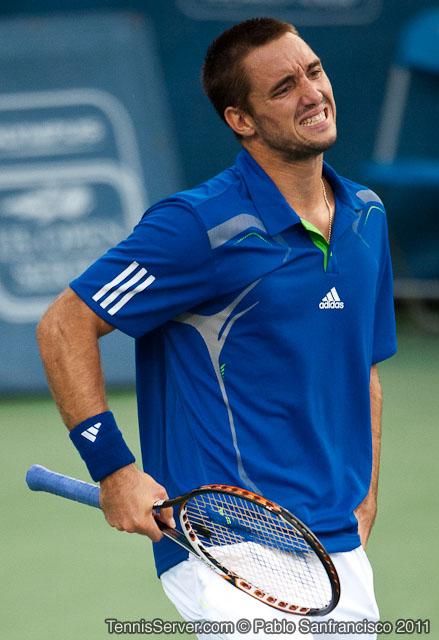 Viktor Troicki 2011 Legg Mason Tennis Classic Washington DC