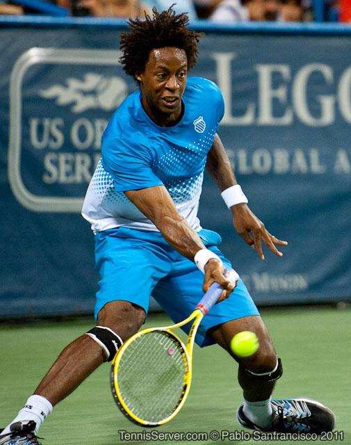 Gael Monfils 2011 Legg Mason Tennis Classic Washington DC