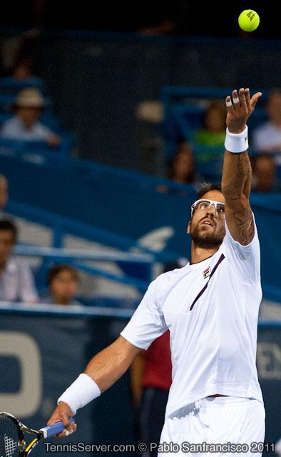 Janko Tipsarevic 2011 Legg Mason Tennis Classic Washington DC
