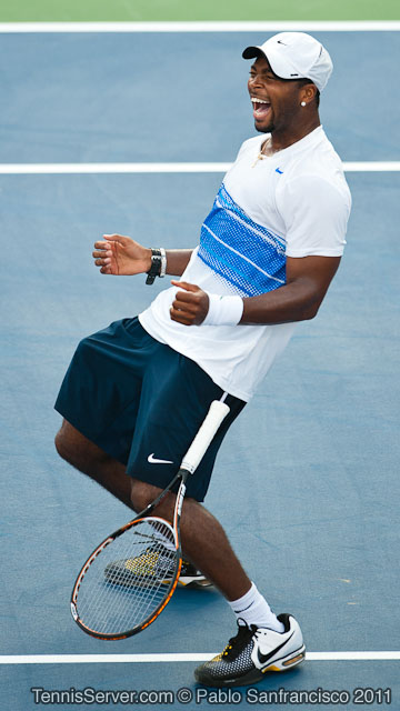 Donald Young 2011 Legg Mason Tennis Classic Washington DC