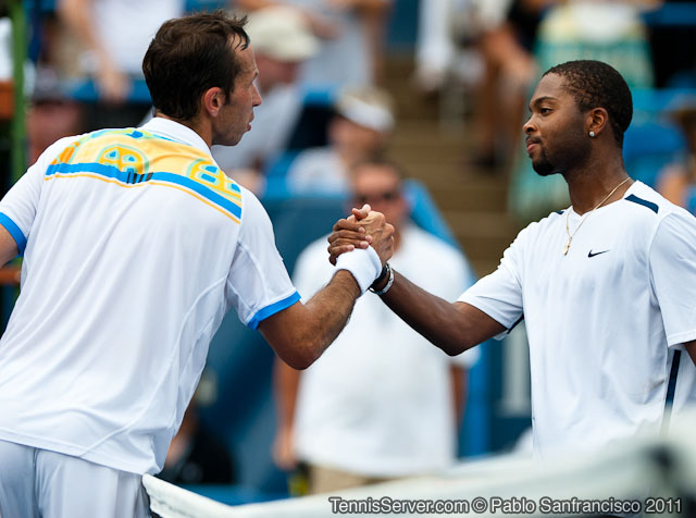 Radek Stepanek Donald Young 2011 Legg Mason Tennis Classic Washington DC