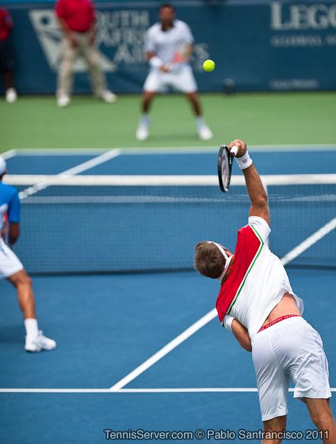 Robert Lindstedt Horia Tecau 2011 Legg Mason Tennis Classic Washington DC