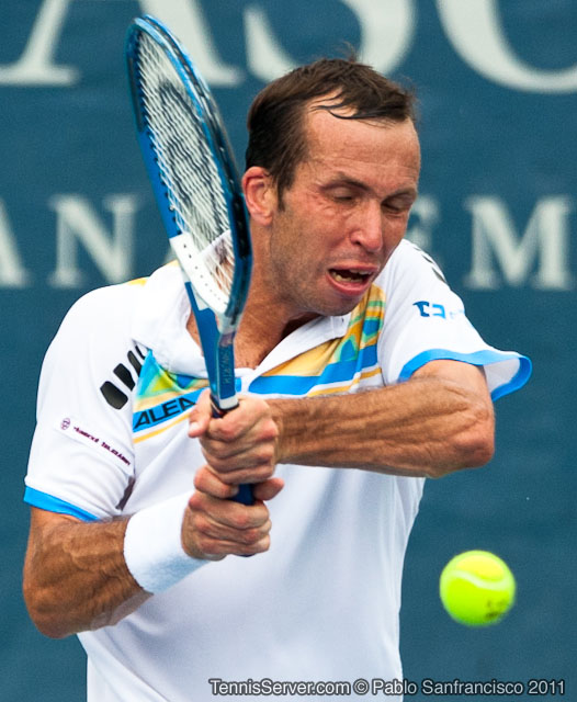 Radek Stepanek 2011 Legg Mason Tennis Classic Washington DC