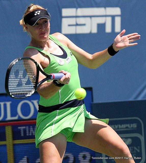 Elena Baltacha 2011 Mercury Insurance Open