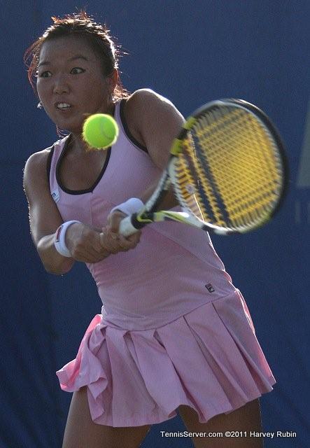 Rika Fujiwara 2011 Mercury Insurance Open