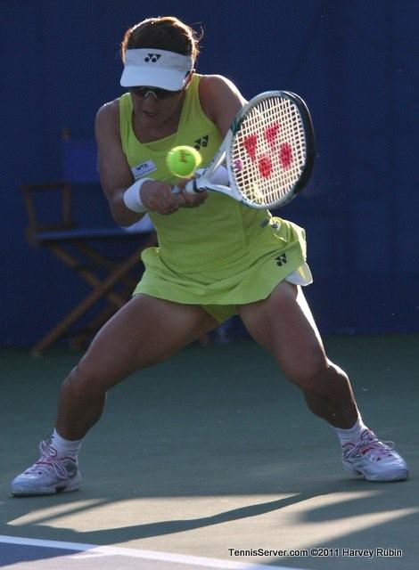 Vania King 2011 Mercury Insurance Open