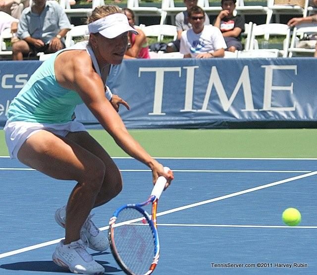 Barbora Zahlavova Strycova 2011 Mercury Insurance Open
