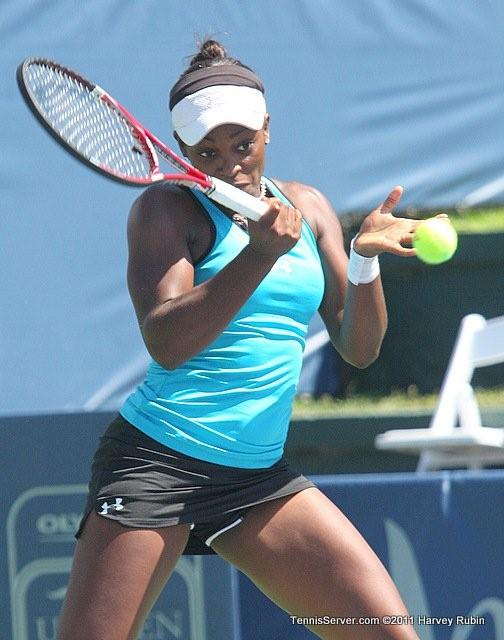 Sloane Stephens 2011 Mercury Insurance Open