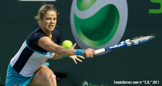 Kim Clijsters 2011 Sony Ericsson Open Tennis