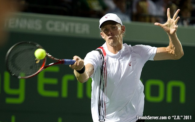 Kevin Anderson 2011 Sony Ericsson Open Tennis