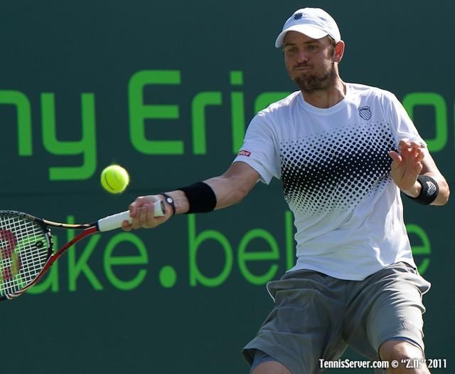 Mardy Fish 2011 Sony Ericsson Open Tennis