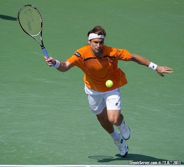 David Ferrer 2011 Sony Ericsson Open Tennis