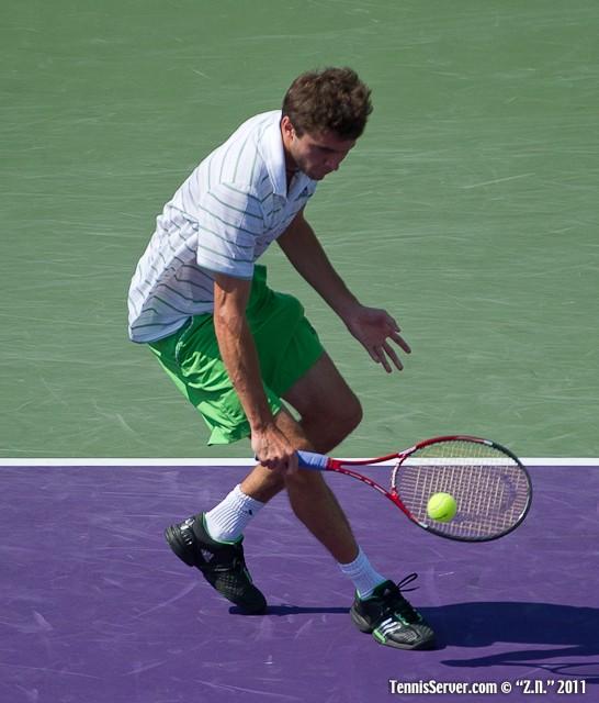 Gilles Simon 2011 Sony Ericsson Open Tennis