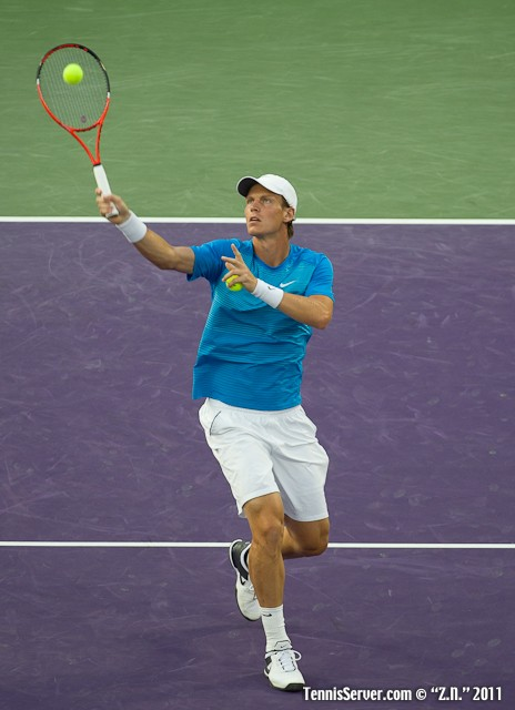 Tomas Berdych 2011 Sony Ericsson Open Tennis