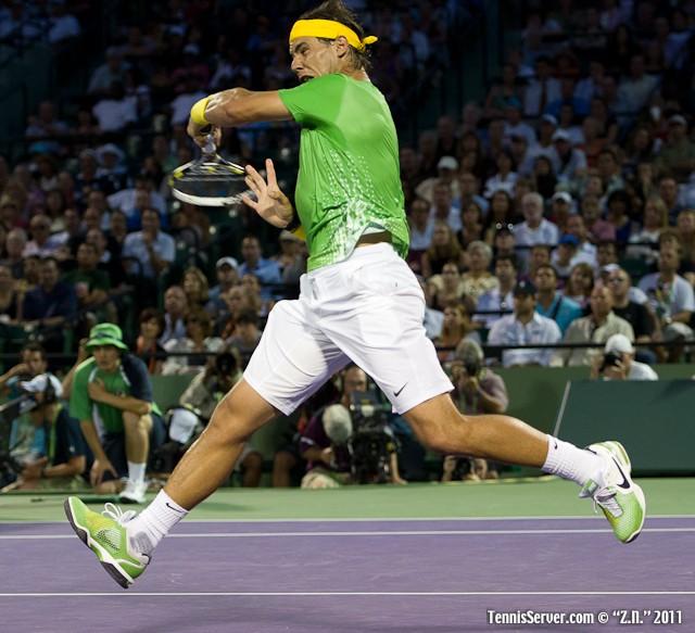 Rafael Nadal 2011 Sony Ericsson Open Tennis