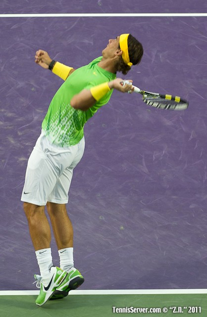 Rafael Nadal 2011 Sony Ericsson Open Tennis