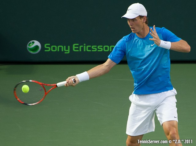 Tomas Berdych 2011 Sony Ericsson Open Tennis