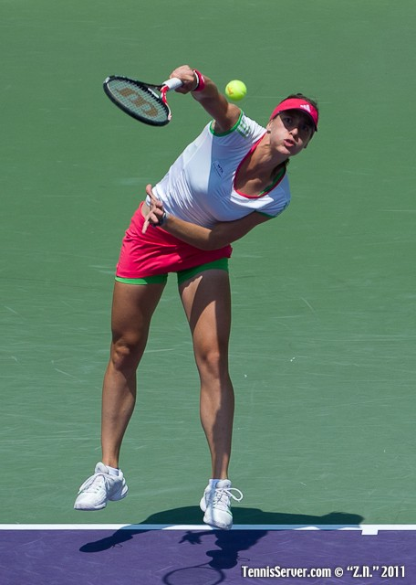 Andrea Petkovic 2011 Sony Ericsson Open Tennis
