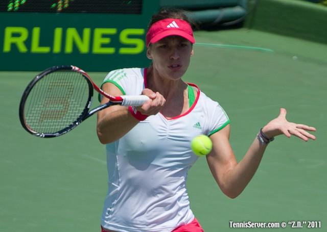 Andrea Petkovic 2011 Sony Ericsson Open Tennis